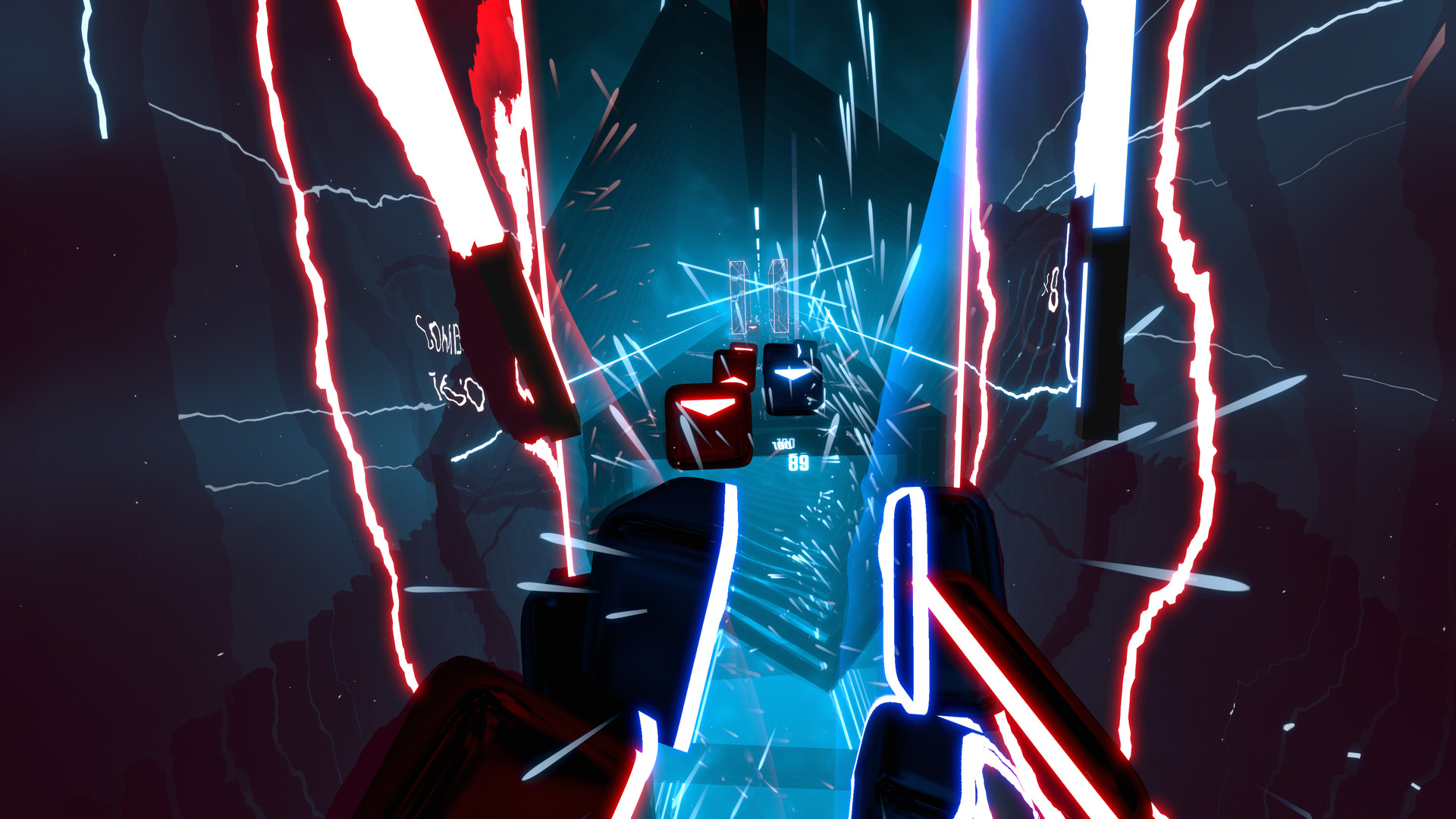 Beat Saber – Virtual Reality Institute of Health and Exercise